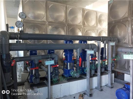 兰西净水厂项目
