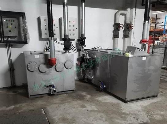 某小区隔油及污水提升设备项目